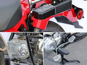 キジマから CT125 ハンターカブに適合する新製品が発売!