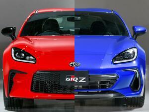 【写真蔵】新型のトヨタ GR86とスバル BRZを公開。エンジンは2.4L、トルクを重視したセッティングに