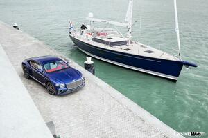 ベントレーと高級ヨットメーカーがコラボ! コンチネンタル GTのインテリアをもつ豪華ヨット誕生