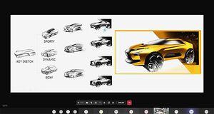 三菱自動車、専門学校HALと共同プロジェクト 現役デザイナーが指導