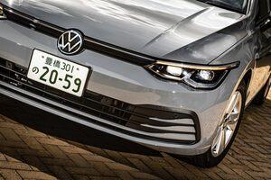 新型VWゴルフ発表。眼力強し!1リッターエンジンが主力…これがゴルフなの!?