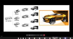 三菱 専門学校HALカーデザイン学科と10年後のモビリティを模索