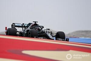 ハミルトン、2021年仕様の新タイヤを批判「あまり言いたくないけど……1周1秒遅い」|F1バーレーンGP