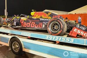 大クラッシュのアルボン、シート確保に影響? レッドブル代表が苛立ち「損失はかなりのモノ」|F1バーレーンGP