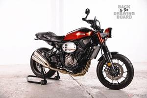 ヤマハ「RD350 Tribute」公開 XSR700をベースにオーナーの夢を実現