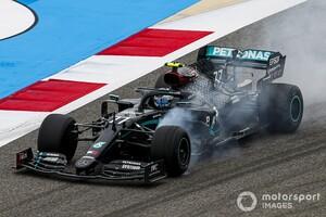 たくさんミスはしたけど……バルテリ・ボッタス、初日は「オーケー」な1日|F1バーレーンGP金曜日