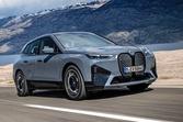 【クラスに生じる激しい競争】BMW iX 試作車の助手席に同乗 航続600km 総合523ps 前編