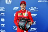 フェラーリのルクレールが2戦連続のポール獲得。角田裕毅は8番手も終盤にクラッシュ【予選レポート/F1第6戦】