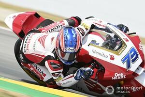 "【MotoGP】〈アジアから""世界""へ〉小椋藍とIDEMITSU Honda Team Asiaの挑戦:成長続く小椋、転倒リタイアでも「""今季ベスト""のレースだった」と手応え"