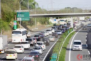 「いつも迷う!」 高速渋滞時は「左・中・右」どの車線が早い? 頻度多い車線変更がNGな理由