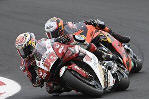 【MotoGP】中上貴晶、サンマリノGPは10位。「厳しいレースだったが前進できた。テストで改善を進めたい」