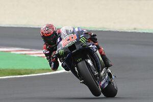 """【MotoGP】クアルタラロ、サンマリノGP2位に終わるも""""限界ギリギリ""""のバトルに満足「ライディングを楽しめた」"""