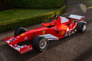 【走れないのに、なぜ高額?】フェラーリF2004 シューマッハー仕様の展示用F1マシン、オークションに マラネッロ製