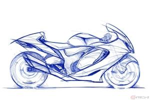 """スズキ新型「ハヤブサ」は""""知性を備えた狂気"""" デザインと空力のせめぎ合いで生まれた3代目アルティメットスポーツ"""