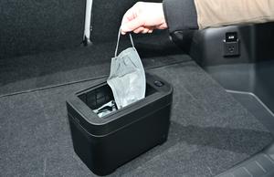 ドライブの時にあると便利!ゴミ捨てが簡単にできるセイワの「WA69スマートダストボックス」