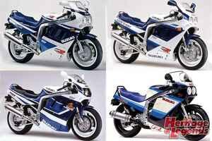 スズキ「GSX-R1100」(1986~1998)の歴史を振り返る【Heritage&Legends】