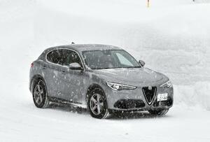 【長期レポート】アルファロメオ ステルヴィオで、大雪の中の走破性を試す【第2回】