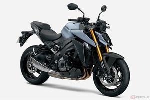 スズキ「GSX-S1000」新型モデル日本導入 3色展開で8月4日に発売