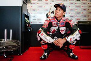 グランプリ出場200戦目となる中上貴晶「順調にセットアップを進めることができた」/MotoGP第13戦アラゴンGP初日