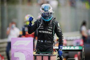 予選最速のボッタス、急なPU交換で日曜にグリッド降格「今は土曜レースに集中、好結果を目指す」メルセデス/F1第14戦