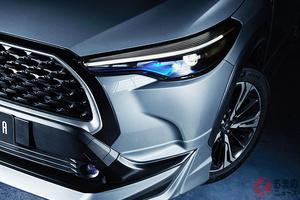 最新エアロ仕様のトヨタSUV「カローラクロス」登場! 世界初公開のタイに投入 独自スポーティ仕様の特徴は?