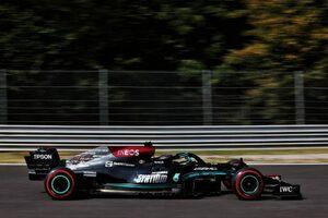 イタリアGP FP2:メルセデス勢が1-2、フェルスタッペンが3番手に。フェラーリのサインツがクラッシュ