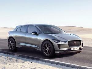 ジャガーの電気自動車「Iペイス」に2022年モデル登場。新たに「ブラックエディション」を追加
