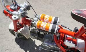 カセットボンベで走るモンキーZ50Mを作っちゃった人がいた!「走りは? 排気ガスはクサい? 燃費は?」