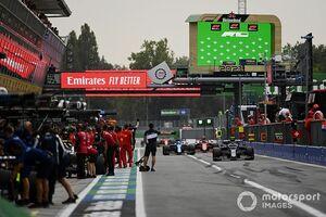 アストンマーチンとアルピーヌにそれぞれ約65万円の罰金……F1イタリアGP予選でのアンセーフリリースが原因