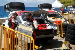 トラブル発生のエバンス「悔しい気持ちで走り続けた」/WRC第9戦ギリシャ デイ2後コメント