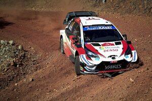 WRCトルコ:トヨタ、選手権リーダーのオジエがSS2でトップタイム。初日3番手に
