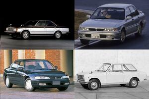 いまやクルマの世界も「少子化」! かつて存在した3車種以上の「兄弟車」4組