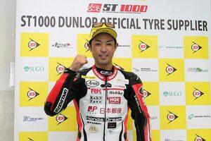 高橋裕紀「もう少しタイムを詰めたかった。決勝も気を抜かず全開で走りたい」/全日本ロード第3戦オートポリス ポール会見