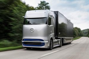 水素社会へのホンキ度を開示? 新たなメルセデス・ベンツ燃料電池トラックのコンセプトが登場!