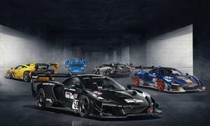 マクラーレン セナ GTR LMデビュー! 1995年ル・マン参戦車のカラーリングを完全再現