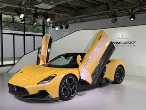 どこまでも優しく、柔らかく、美しい線と面。マセラティが造った全く新しいスポーツカー「MC20」が語るもの