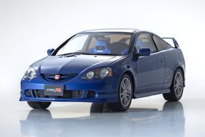 青と白の2色展開で世界限定300台! いまなお人気の「ホンダインテグラ タイプR」が1/18スケールになって京商より発売
