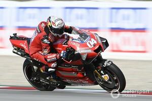 【MotoGP】ドヴィツィオーゾ、予選17番手と大苦戦。タイヤとブレーキングの問題根深く