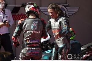 【MotoGP】初ポール獲得フランコ・モルビデリ、その速さは僚友クアルタラロにも予想外!?
