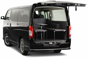 オーテックジャパン、「NV350キャラバン」に車中泊仕様車「マルチベッド」設定