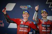 ミラー、ドライコンディションでの初優勝に歓喜「現実になるなんて」/MotoGP第4戦スペインGP決勝トップ3会見