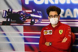 """フェラーリのビノット代表、終盤でさらに2戦を欠場へ。2022年マシン開発が""""重要なフェーズ""""に"""