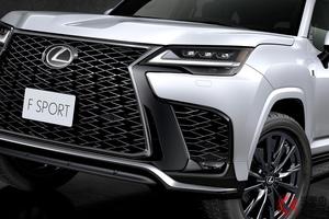 レクサスが高級SUVを世界初公開! ド迫力顔じゃないスポーティ顔もお披露目! 新型「LX」に「F SPORT」初設定!