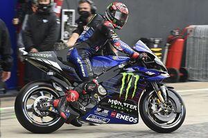 【MotoGP】クアルタラロ、予選Q1敗退はタイトル争いが影響? 「無意識のうちにリスクを避けていた」