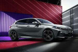 BMWのコンパクトカー初のカスタマイズプログラムによるペイントを実施! スポーティさと上質さを併せ持つ1シリーズ限定モデルを発売