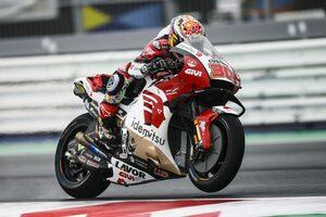 中上貴晶、予選17番手で苦戦「気持ちを切り替え、ドライ予報の決勝はベストを尽くす」/MotoGP第16戦エミリア・ロマーニャGP予選