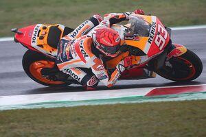"""【MotoGP】マルケス、予選で""""ラッキー""""な転倒回避も「あの後自信を失ってしまった……」"""