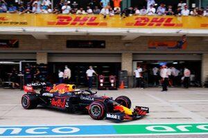 レッドブル代表「アメリカでのメルセデス連続ポールを止めた、記念すべき日」/F1第17戦予選