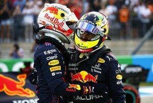ペレス予選3番手「ポールを獲る速さがあったのに残念。雨の影響を受けた」レッドブル・ホンダ/F1第17戦
