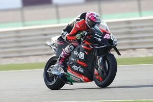 """【MotoGP】アプリリアの新型、ポテンシャルあり? アレイシ・エスパルガロ「""""革命""""は無いけど去年とは別物」"""